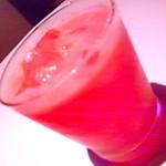 バラクーダ - 期間限定の「スイカのソルティドック」フレッシュ感いっぱいで爽やかなカクテル。