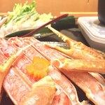かに政宗 - 料理写真:カニすきのカニ!