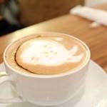 スコップカフェ - チョコレートラテ