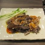 神戸焼肉かんてき - センマイの胡麻油和え
