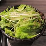 神戸焼肉かんてき - かんてきサラダ