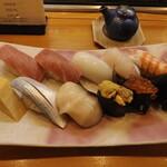 順鮨 - 料理写真:特上握り ¥3,300