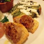 ウエルト - 自家製鶏のレバーパテ