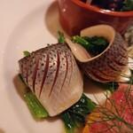 ウエルト - コハダの酢ジメと菜の花