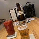 Isogamifuraibaru - トマトジュース、ノンアルコールビール零