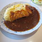 cafe いっぱく - 料理写真:ビーフハヤシライス大盛