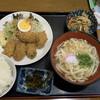 居・どん家いしみ - 料理写真:カキフライ定食(790円)