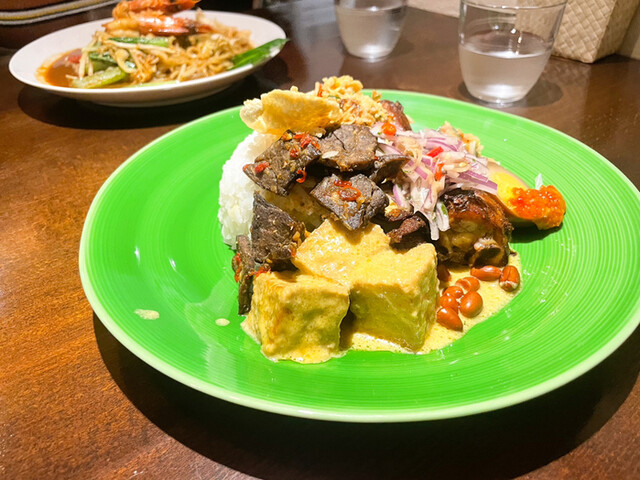 ブンガ ブランの料理の写真