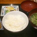 大和屋 横浜店 - ご飯お代り可