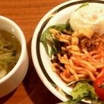 ステーキハンバーグ&サラダバー けん - サラダバー、スープ