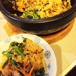 李さんの台所 - 石焼きビビンパプ。