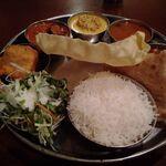 Truly south indian dakshin yaesu - 休日ランチミールス(ベジ)