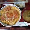 新屋 - 料理写真:とりかつ丼850円