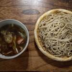玉川屋 - 鴨汁蕎麦大盛(1,480円)