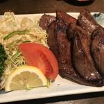新料理 都留野 - たん焼き(2,100円)