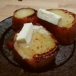 鉄板料理専門店 侘家三昧 - はちみつバター