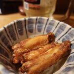 水炊き・焼鳥 とりいちず酒場 - 伝説の手羽唐ボーン 3本177円(税別)