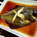 魚や  - かれい 煮付