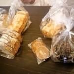 食ぱんの店 天食米果 - 料理写真:本日は これだけ購入しました♪♪