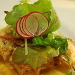 割烹やま - ランチの野菜会席のやさい料理