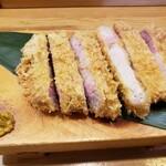 とんかつ紅の豚 - 料理写真: