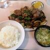 大衆中華 宝来 - 料理写真:B定食.レバニラ炒め。旨い!