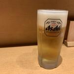 うどん居酒屋 粋 - 生ビール