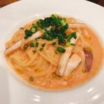 イタリアン食堂 MAS - イカ明太子パスタ
