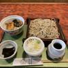 Echigoya - 料理写真:今日のミニ丼せいろ イカ天丼(小)