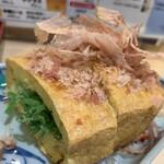 立飲み寿司 三浦三崎港 めぐみ水産 - とちおの油揚げ
