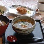 サロン・ド・懐古 - 懐かしい味 五穀ごはんセット 1000円