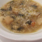 Osteria Giulia - 有機野菜のスープ
