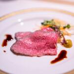洋食 つばき - 近江牛のローストビーフ