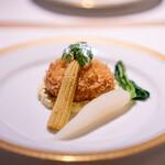 洋食 つばき - 北海道産毛蟹のクリームコロッケ