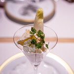 洋食 つばき - フルーツのヨーグルトサラダ