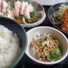 刺身和食 旭屋 - 料理写真:お目当て純生アンキモ刺身定食