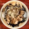 Goriramen - 料理写真:ラーブタ黒(ヤサイ、ニンニク、アブラ)