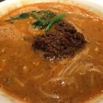 龍鳳 - 坦々麺(スープ多め)
