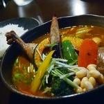 Soup Curry SAMURAI. -