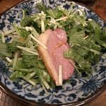 さいき - 鴨肉と水菜サラダ