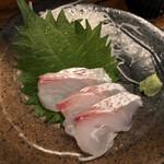 さいき - 鯛のお刺身