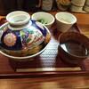 とんかつは飲み物。 - 料理写真:タマゴソースカツ丼。小鉢三つはカツ丼にデフォルトで付いてます。