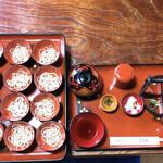 芭蕉館 - 料理写真:わんこそば(2000円)