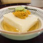 一華 - 先付:湯葉豆腐