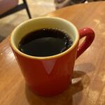 ふなわかふぇ - 焼き芋ようかんプレート、コーヒー ¥715-