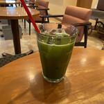 ふなわかふぇ - 冷抹茶 ¥374-