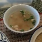 タワンタイ - ランチのスープ