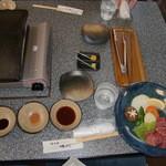 14253450 - 石焼サイコロステーキ定食
