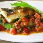 フレンチカフェレストラン 神楽坂 ル コキヤージュ - 築地より鮮魚のポワレ
