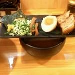 14253950 - つけ麺(つけ汁+トッピング)